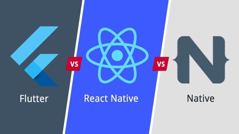 Flutter vs. React Native vs. Native